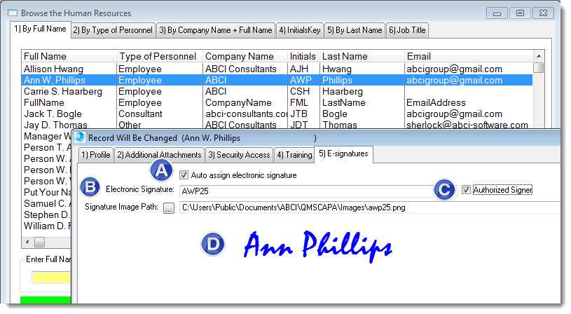 ElectronicSignatures